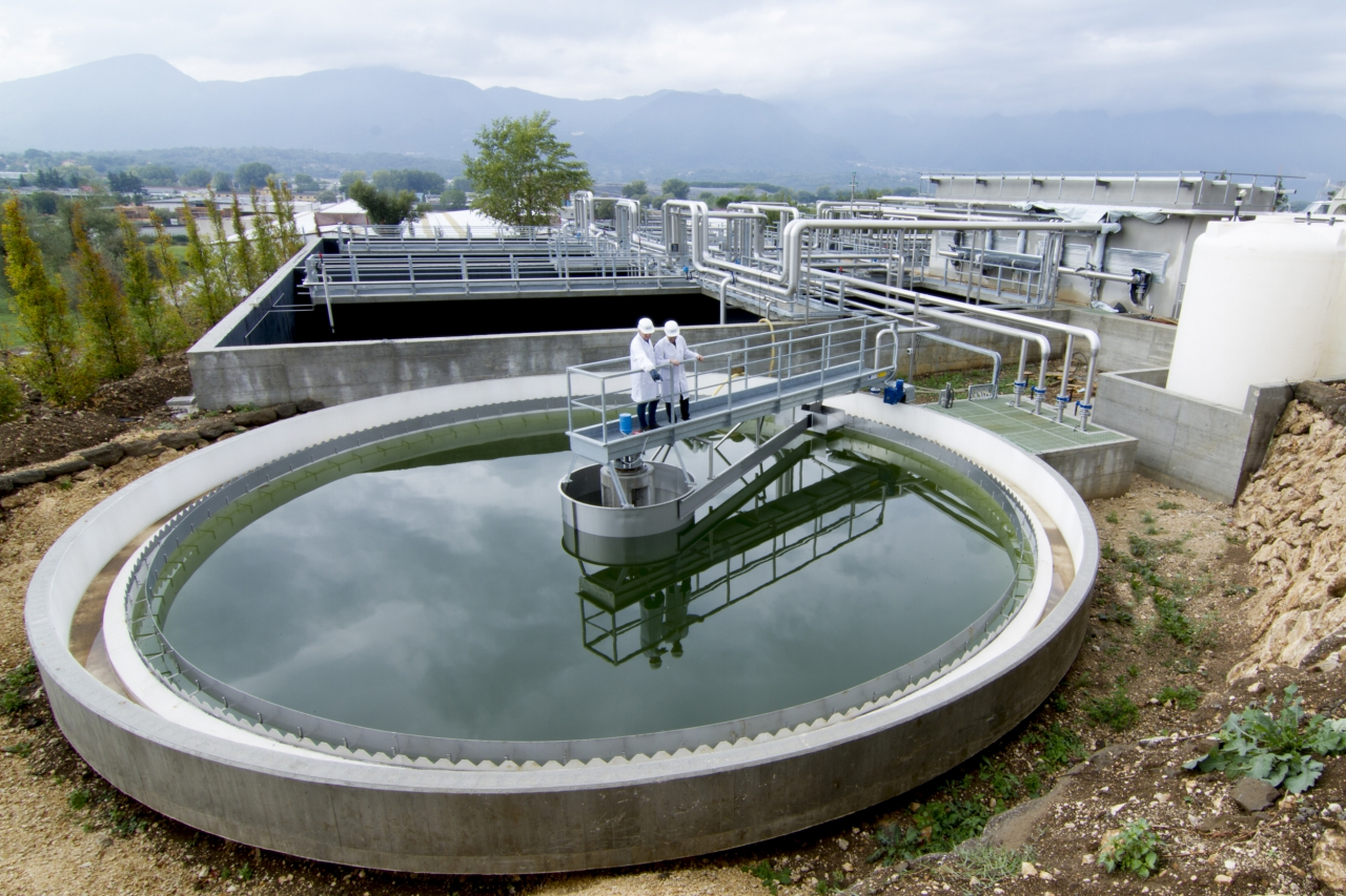 Impianti trattamento acque reflue